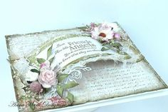 Amd Shabby Chic Cards, Vintage Shabby Chic, Beat Friends, Card Making Inspiration, Creative Crafts, Flower Power, Wedding Cards, Birthday Cards, Christmas Cards
