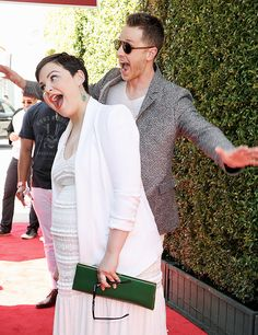 Josh and Ginny attends the 13th Annual Stuart House benefit on April 17, 2016 in Los Angeles, California