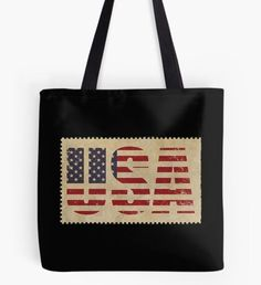 'Martin Luther' Tote Bag by Large Bags, Small Bags, Cotton Tote Bags, Reusable Tote Bags, Medium Bags, Martin Luther, Poplin Fabric, Shopping Bag, Flag