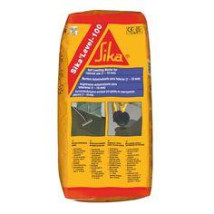Sika®-Level 100 Nivelador - Sika®-Level 100: es un mortero cementoso modificado con polímeros monocomponente, autonivelante, bombeado de endurecimiento rápido para la regularización y nivelación de pavimentos interiores que vayan a ser cubiertos posteriormente. Material World, Cleaning Supplies, 1, Soap, Bottle, Grout, Mortar And Pestle, Interiors, Construction Materials