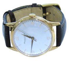 Vintage IWC 18K Rose Gold Mens Watch Swiss by SWISSCALIBER on Etsy