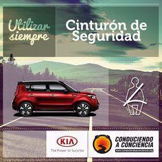 Gráfica con el apoyo de la compañía de autos KIA Motors.