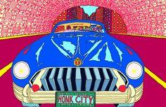 (Digital Graphic Artwork)Produsert 2014 Ramme: 127 x cm Arkflate: 112 x cm. James Rosenquist, Claes Oldenburg, Jasper Johns, Edvard Munch, Roy Lichtenstein, Graphic Artwork, Andy Warhol, Artsy Fartsy, Psychedelic