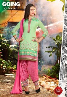 Patiala House vol 28 Ladies Salwar Kameez, Patiala Salwar Suits, Cotton Salwar Kameez, Punjabi Suits, Indian Suits, Indian Dresses, Indiana, Punjabi Girls, Cotton Suit