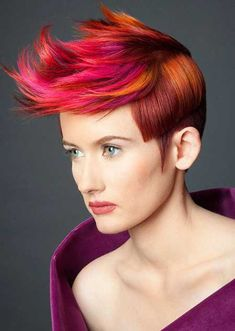 Awesome-Artistic-Pixie-Cut...I just loved this cut and color had to post