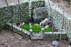 Our fairy garden.