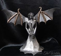 Bronze Sculpture, Batgirl, Macabre, Matilda, Female Art, Gothic, Wings, Steel, The Originals