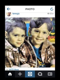 Little Lenny and John