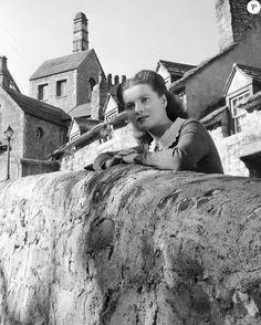 Maureen O'Hara dans How Green Was My Valley en 1941.