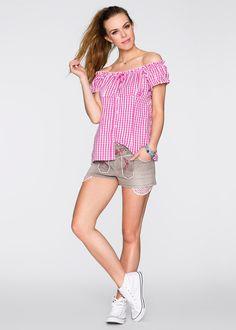Trachten-Shorts light grey denim - RAINBOW jetzt im Online Shop von bonprix.de ab ? 34,99 bestellen. Die Wies`n kann kommen, mit dieser modischen Shorts der ...