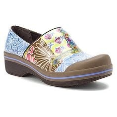 Dansko Volley Rain Shoe found at #OnlineShoes If ya have to wear clogs to work they might as well be pretty :)