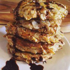 Carrot and apple oaty pancakes | Fopperholic