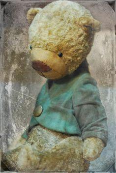 The artist vintage bears of Aida Zyryanova OOAK handmade of plush