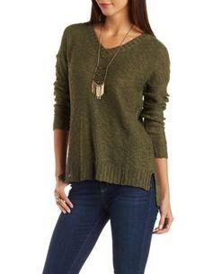 Slub Knit Pullover Sweater #CharlotteLook
