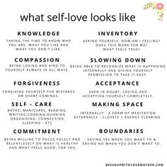 What self-love looks like. Figuring out what self-love looks like after narcissistic abuse. Workout Cardio, Band Workout, Toxic Relationships, Healthy Relationships, Relationship Tips, Marriage Tips, Abusive Relationship, Mental And Emotional Health, Emotional Healing