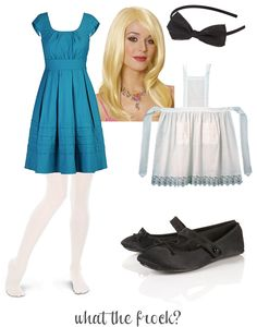 What the Frock? - Affordable Fashion Tips, Celebrity Looks for Less: Alice in Wonderland Halloween Costume