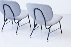 Easy chairs attributed to Alf Svensson 0