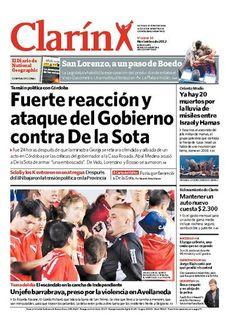 Fuerte reacción y ataque del Gobierno contra De la Sota. Más información: http://www.clarin.com/politica/Gobierno-reacciono-salio-duro-Sota_0_811718907.html