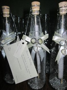 Mejores 21 Imagenes De Invitaciones En Botellas De Vidrio En - Invitaciones-de-boda-en-botella