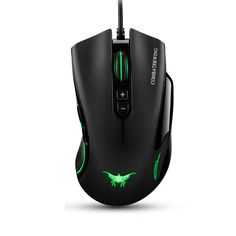 Wired Gaming Mouse For Laptop Desktop PC Computer Peripherals,4800 DPI Adjustable 7 Buttons Gamer Mice With Breathing Light