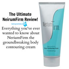 This will be the last, the definitive, the ultimate, the be all end all of NeriumFirm review that you'll ever need to read. Thanks to Nerium International, women...AND men, no longer need to worry about skin issues such as loose & saggy skin or cellulite & dimpled skin. You WILL be AMAZED at what NeriumFirm will do for your skin. www.dianaml.nerium.com
