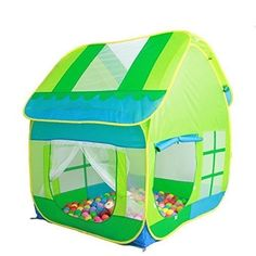 Pop Up Playhouse Kids Indoor Outdoor Toy Tent Play Fun Child Boys Girls Children  sc 1 st  Pinterest : kids play tent and tunnel set - memphite.com