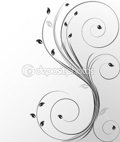 Trendy abstract vector flower by vanias - Stock Vector