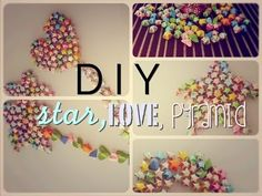 DIY Star, Love, Pyramid From Paper Hi guys! So here's another DIY for all of you. Arts And Crafts, Paper Crafts, Diy Crafts, Recycle Newspaper, Creative Crafts, Recycling, Love, Stars, Christmas