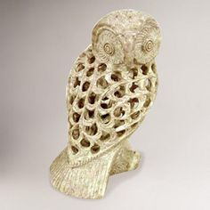 One of my favorite discoveries at WorldMarket.com: Novica Mother Owl Sculpture