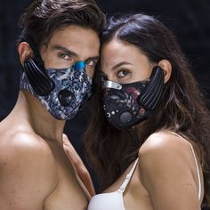 The Digicare Lead-out Anti-pollution Mask pairs an industrial grade KN95 air filter with a pair of bone conducting headphones.