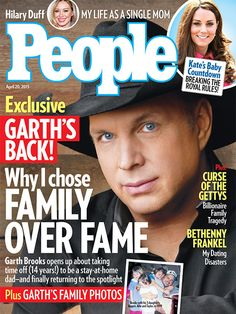 Why Garth Brooks chose raising his daughters over music for a while...