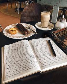 Journal Aesthetic, Book Aesthetic, School Motivation, Study Motivation, Study Inspiration, Journal Inspiration, Study Organization, Study Hard, Coffee And Books