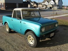 We own a green 1963 International Scout Model 80 which we have restored and are willing to sell. This Scout has lived most of its life in Guelph, Ontario and has low miles. The previous owner was t…