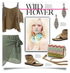 """""""Wild Flower"""" by mahafromkailash ❤ liked on Polyvore"""