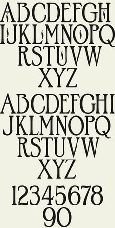 This antique early style font from John Studden lends an old-fashioned feel to your design without being too frilly or hard to read.