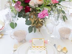 Inside a Top Fashion Blogger's Elegant Baby Shower: Rachel Parcell of Pink Peonies invites us to her elegant, feminine affair. via @domainehome