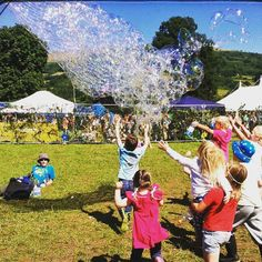 Chasing Bubbles @ettingerlondon #MyColourOfSummer