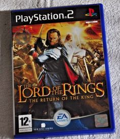 THE LORD OF THE RINGS  THE RETURN OF THE KING  Sony Playstation 2 Video Game PS2