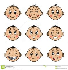 emotions clipart for kids collection. Kids Emotions Clip Art , I am homeschooling my Clipart Family Members Clip Art and other 51 cliparts. Face Images, Face Pictures, Girly Pictures, Emotions Cards, Happy Emotions, Digimon, Emotional Child, Different Emotions, Best Children Books