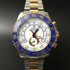 Rolex Yacht Master II 116681 Steel and Rose Gold. #watchporn #watchmania #wristwatch #watchoftheday #timepiece #secondhand #instawatch #secondoriginalwatch #jamtanganseken #preownedwatch #luxurywatch. www.mulialegacy.com