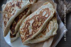 de délicieuses crêpes Turques garnie de poulet très facile et rapide à faire