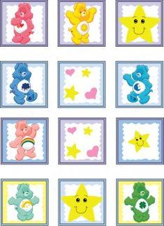Care Bear Sticker, Care Bears, Stickers - Free Printable
