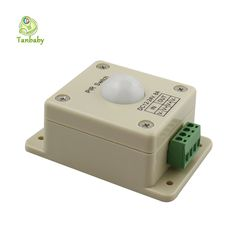 Tanbaby DC12-24V 8A ПИР Переключатель Свет Инфракрасный Датчик Движения PIR Переключатель для светодиодные лампы полосы освещения автоматический регулятор