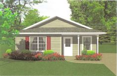 This  story  features 736 sq feet. Call us at 866-214-2242 to talk to a House Plan Specialist about your future dream home!