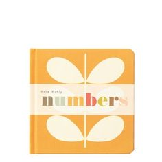 Orla Kiely | USA | House | Books & Stationery | Numbers Book for Babies (00XP/NUM100) | Numbers