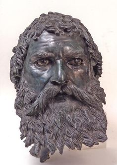 Head of King Seuthes III, Thracian, early Hellenistic period.  Photograph: National Institute of Archaeology and Museum, Bulgarian Academy of Sciences
