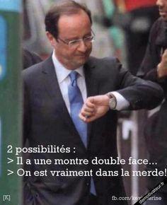 Demotivateur.fr   nouveau-President-françois hollande montre ridicule