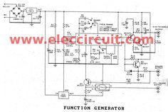 1Hz 2MHz Function Generator with XR2206 schematic