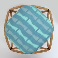 Ikat Diamond Stool from MITSEIN Hand made, fair and sustainable production www.mitsein.com.au