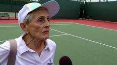 NBC 7's Todd Strain shows us that age is no obstacle for a few of the older players at The USTA Women's National Hard Court Championships for 50, 60, 70, 80 and 90 year old's. Check out Joice Vanderpal and Rita Prices story here: http://www.nbcsandiego.com/news/sports/Todd-PKG-90-Year-old-tennis_San-Diego-422039483.html?utm_content=buffer79ceb&utm_medium=social&utm_source=pinterest.com&utm_campaign=buffer